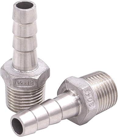 Midland 12-263 Zinc Steel Inverted Flare Tube Nut 3//16 Domestic Tube x 1//2 x 20 Inverted Thread