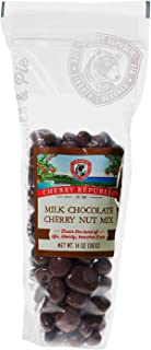 product image for Cherry Republic Milk Chocolate Cherry Nut Mix - Nutrition-rich Trail Mix Featuring Milk Chocolate Coated Tart Dried Cherries, Roasted Pecans, Cashews & Almonds - All-purpose Snack Mix - 14 Ounces