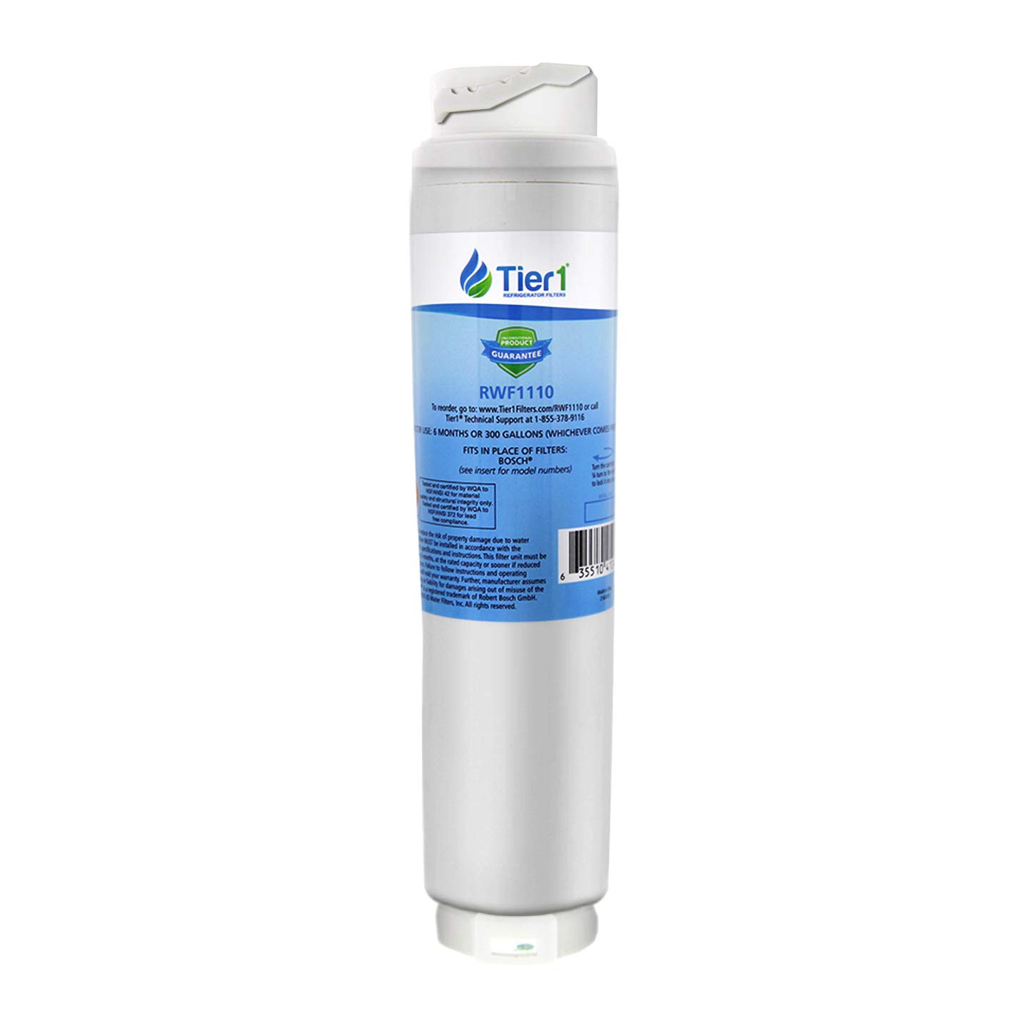 Tier1 Replacement for Bosch 644845 REPLFLTR10 UltraClarity, 644845, 9000194412, 740570, 9000077095, 9000193914 Refrigerator Water Filter