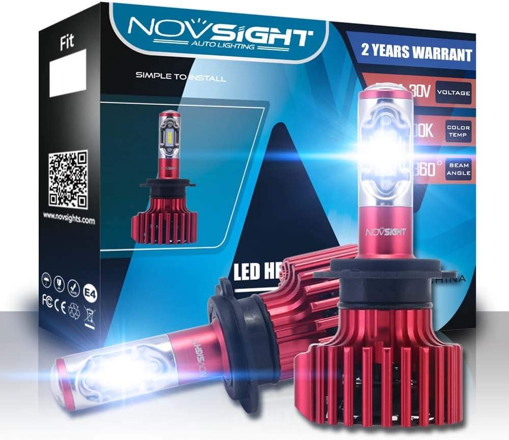9006//HB4 LED Car Headlight Bulbs Conversion Kit,Nighteye 50W 8000LM 6500K Cool White CREE LED Automotive Driving Headlight Bulbs 3 Year Warranty Wanmingtek Pack of 2