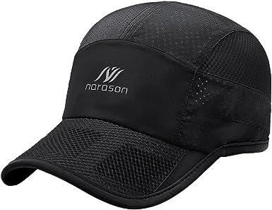 Men Running Waterproof Outdoor Sun Visor Breathable Hat Sport Baseball Cap Mesh