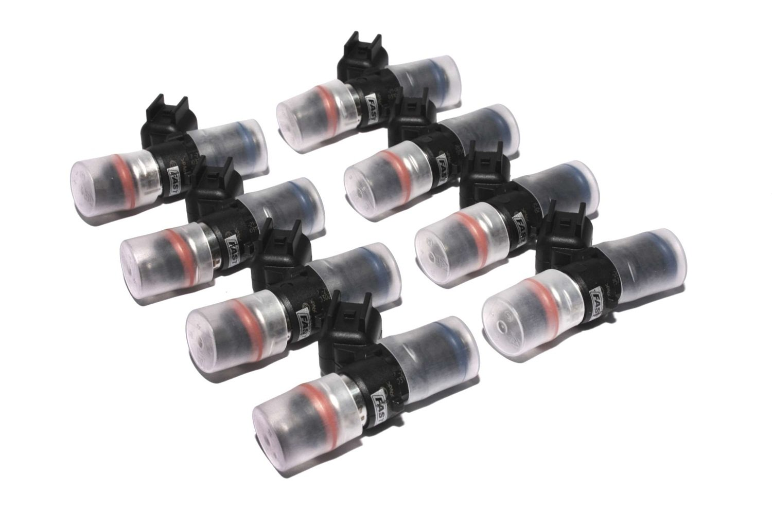 Set of 8 FAST 30397-8 Precision-Flow 39 lb//hr 409.5cc//min High-Impedance Fuel Injector for LS3//LS7,