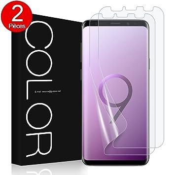 Galaxy S9 Plus Protection écran,G-Color  Erreur sans,Bulle sans ... 846e2e71eb63