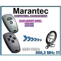 Marantec D302–868/D304–868compatible handsender, klone Fernbedienung, 4canales de código