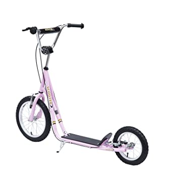 Outsunny - monopatín Scooter de ruedas de 40, 6 cm -16 ...