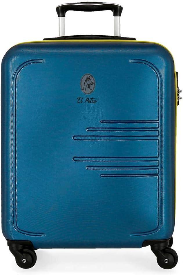 Maleta de Cabina El Potro Batrán Azul rígida 55cm Azul Marino