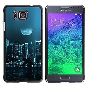 All Phone Most Case / Oferta Especial Duro Teléfono Inteligente PC Cáscara Funda Cubierta de proteccion Caso / Hard Case Samsung ALPHA G850 // Moon City