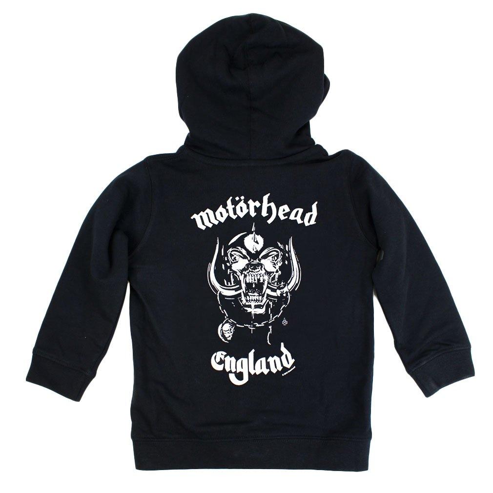 Motorhead Kinder Kapuzenjacke England