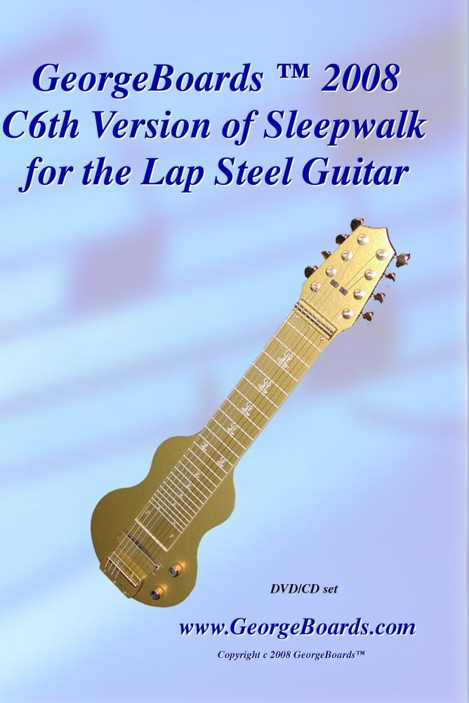 Amazon Lap Steel Guitar Instructional Dvd Georgeboards 2008