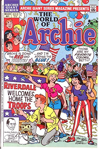 (ARCHIE GIANT SERIES (1954-1992)622 VF-NM WORLD OF ARCHI)