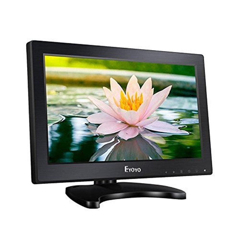 Boblov Eyoyo 11.6 Pulgadas 16:9 HD 1366*768 TFT LCD Monitor Con Entradas HDMI VGA BNC AV Audio Altavoces K1223