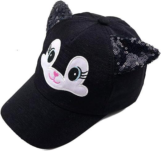 JOYKK Bebé Sombreros Bebé de Dibujos Animados Gato Coreano Gorras ...