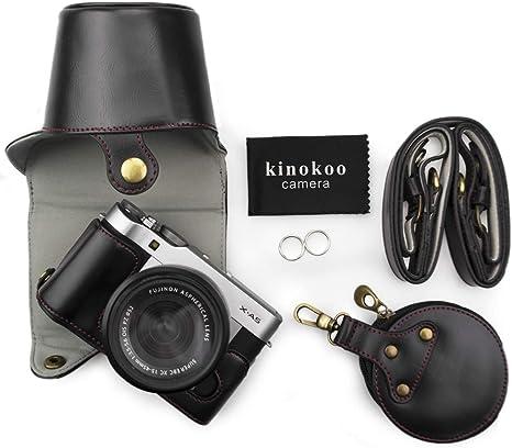 Kinokoo - Funda para cámara Fujifilm X-A5 y objetivo de 15-45 mm ...