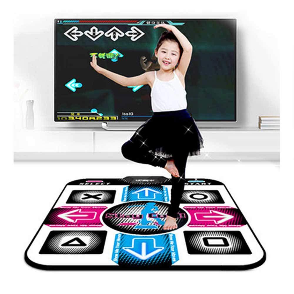 Leepesx Tanzmatte Tanzen Step Pad Spielmatte T/ägliches Training rutschfeste Tanzdecke Universal USB-Stecker f/ür PC