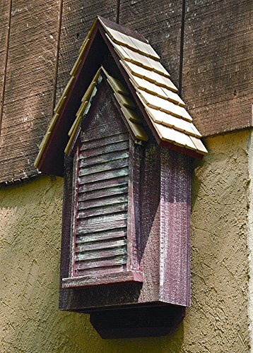 Heartwood 010B Victorian Bat House (Cypress Redwood Birdhouse)