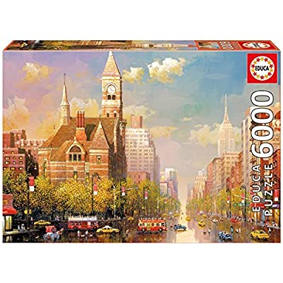 Educa 16783 6000new York Afternoon By Alexander Chen 1000piece Jigsaw Puzzle