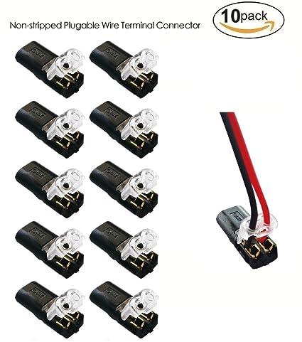 Amazon.com: Non-stripped Wire Applicable Wire Terminal Block ...