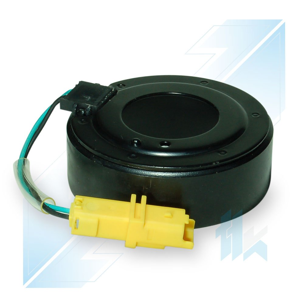 climática Compresor acoplamiento magnético Bobina apto para Peugeot 206, 307; RENAULT CLIO III (BR0/1, CR0/1)/Kangoo 1.5 dCi; NISSAN MICRA III (K12) 1.5 dCi ...