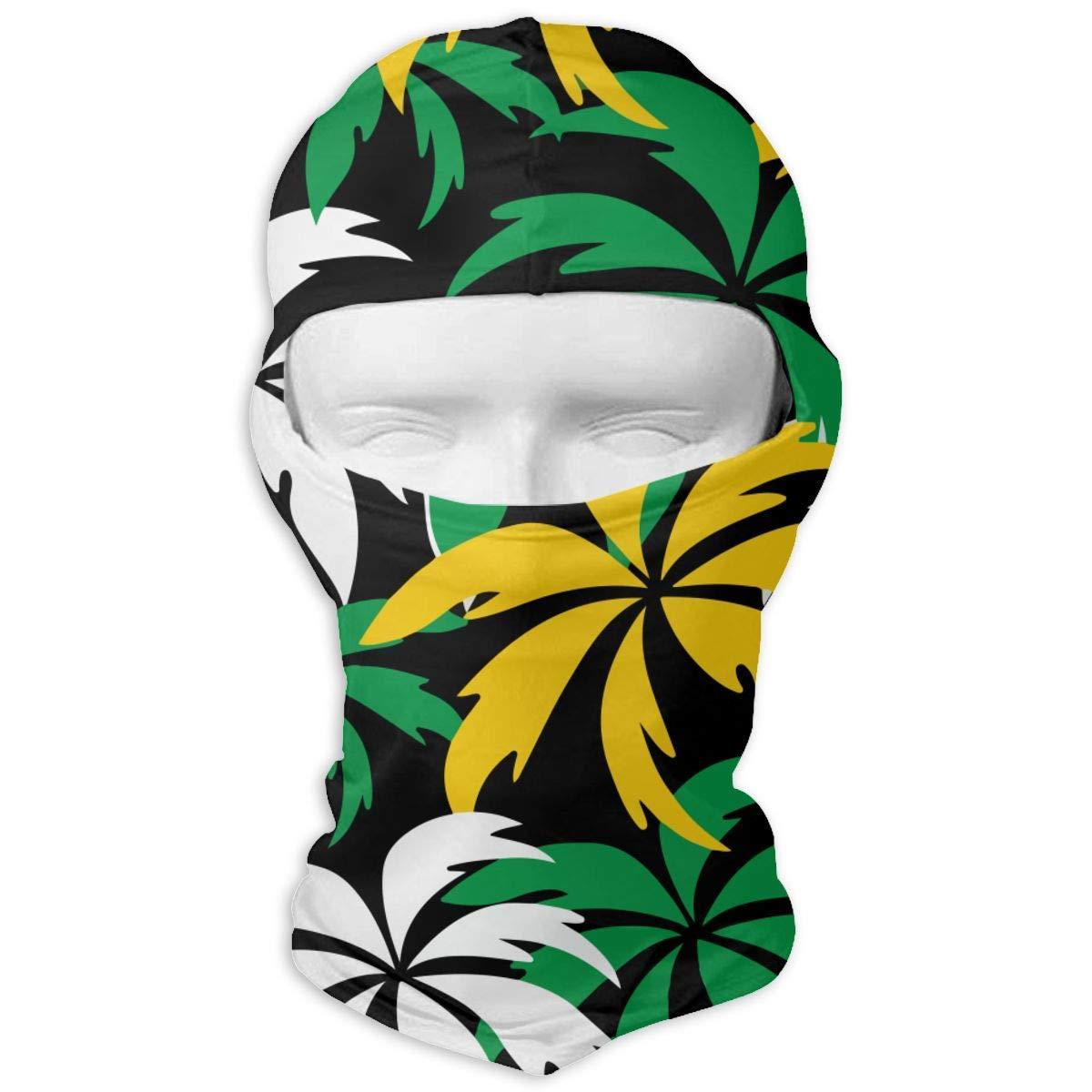 Bikofhd Colorful Palm Trees Balaclava Full Face Mask Hood Windproof Ski Face Mask Balaclava Face Mask Multicolor5