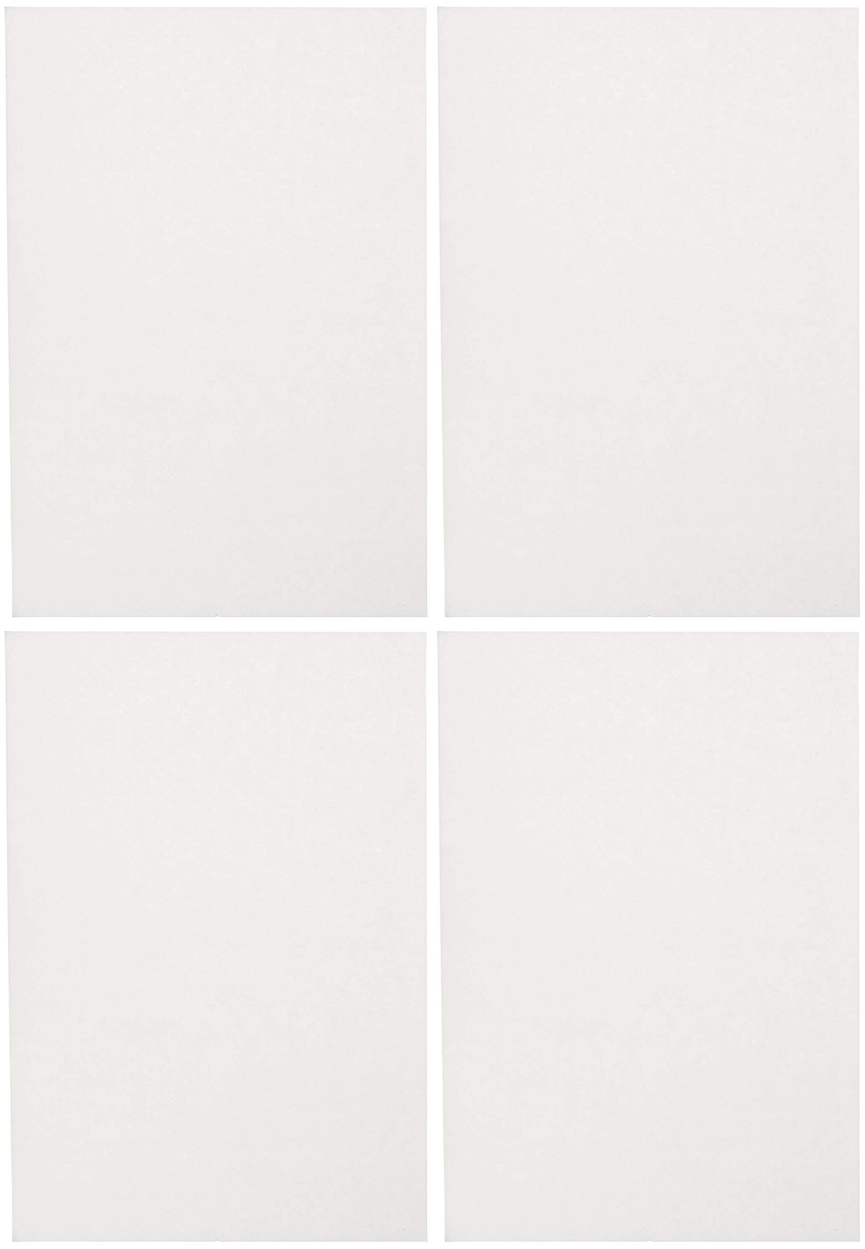 Sax Sulphite Drawing Paper, 70 lb, 12 x 18 Inches, Extra-White, Pack of 500 (Вundlе оf Fоur)
