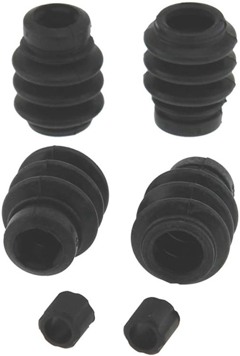 ACDelco 18K1929 Professional Front Disc Brake Caliper Rubber Bushing Kit with Seals and Bushings