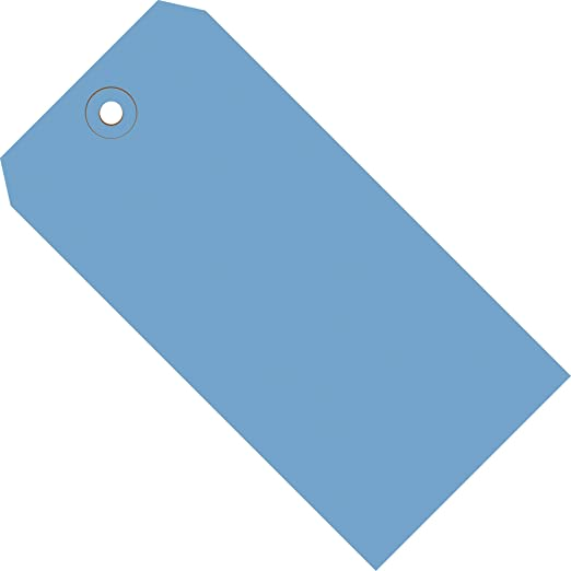 G11051H Orange 4-3//4 L x 2-3//8 W Case of 1000 Aviditi 13 Point Cardstock Shipping Tag