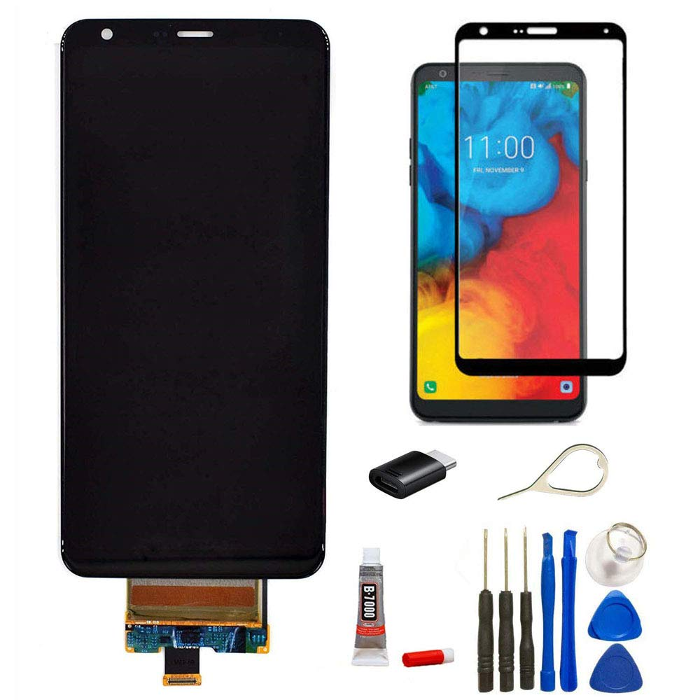 for LG Stylo 5 LCD Assembly Replacement Display Touch Screen Digitizer Glass Parts for LG Stylo 5 Stylus 5 Q720 Q720CS/PS Q720MS/US LCD Assembly Replacement +Tape-C Adaptor Eject Pin by FXDTECH