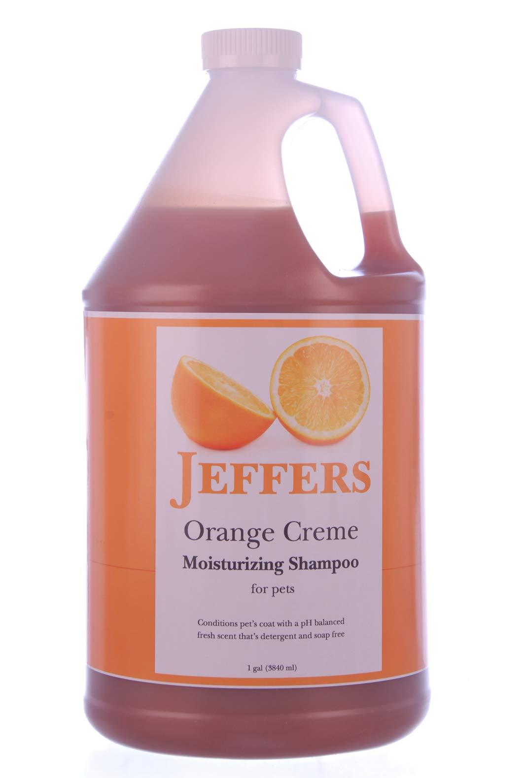 Jeffers Orange Creme Shampoo, Gallon by Jeffers