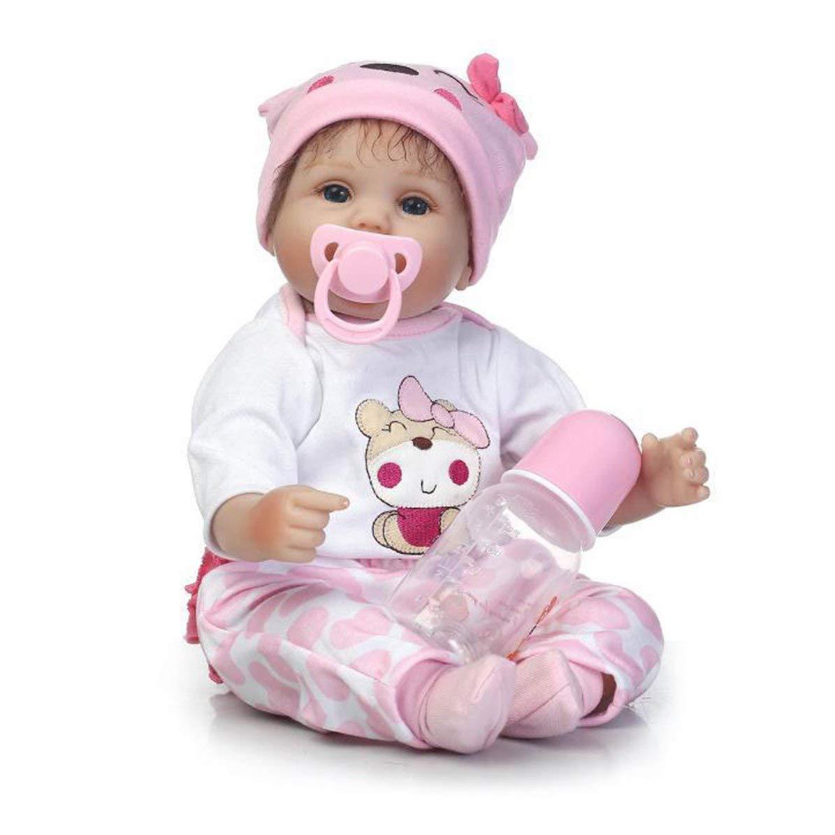 entrega rápida Simulación Simulación Simulación Bebé Muñeca Renacida Juguete Completo Silicona Realista Crianza De Los Niños Juguete  40% de descuento