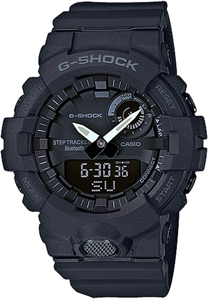 Casio G-Shock Men s GBA800-1A Black One Size
