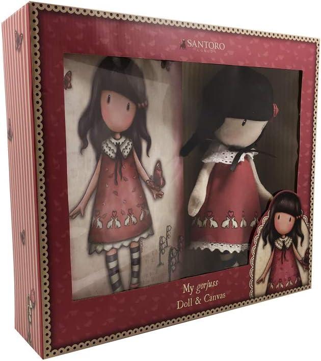CYP BRANDS Set de Regalo muñeca y Lienzo de Gorjuss Time to Fly (CK-12F-G), Multicolor (1): Amazon.es: Juguetes y juegos
