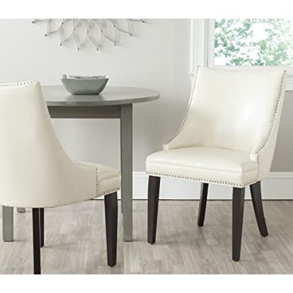 Safavieh Mercer Collection Afton Side Chair Flat Cream Set Of 2