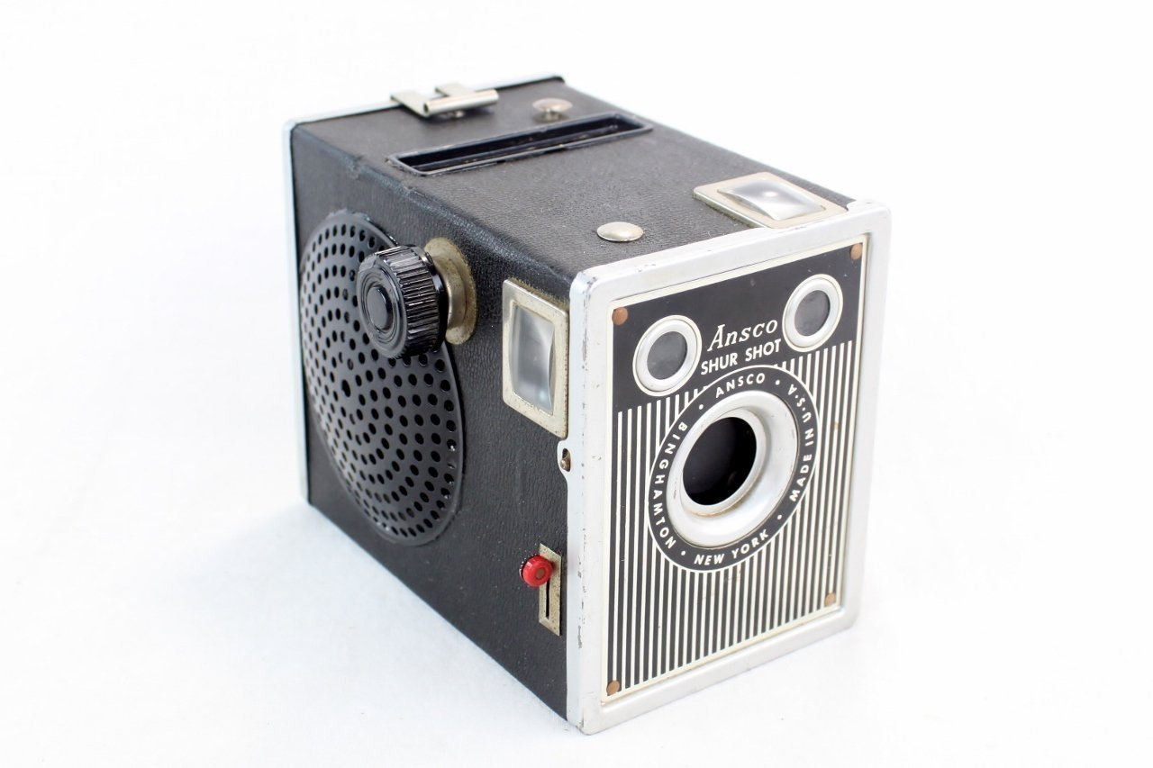 Steampunk Wireless Next Gen Bluetooth Speaker - ANSCO Shur Shot Special Camera - Music Lover Gift by LightAndTimeArt