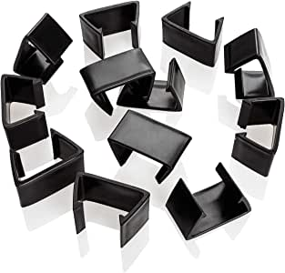 Acimone Outdoor Patio Wicker Furniture Clips, 12PCS Sectional Sofa Rattan Furniture Clips Chair Fasteners