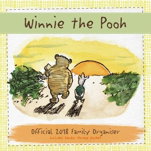 Winnie The Pooh Family Organiser Official 2018 Calendar - Family Planner Square Wall Format