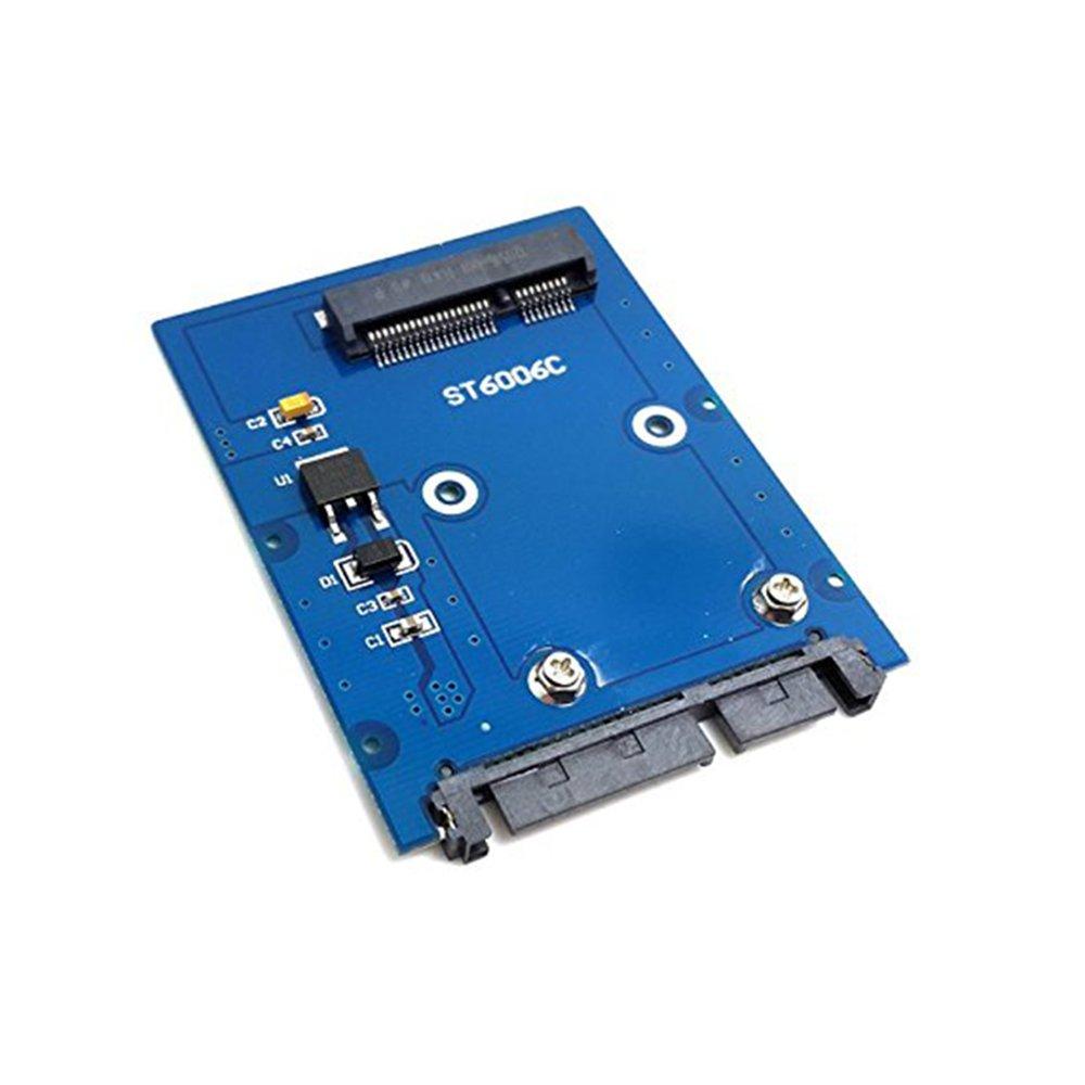 Delgado Tipo Mini PCI-E mSATA SSD a 2.5