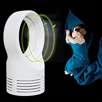 LQ Tower Fan Tragbarer Schreibtischventilator Kühlender Tischventilator 30W Blattloser  Ventilator Ventilateur Sans Pales Turmfan