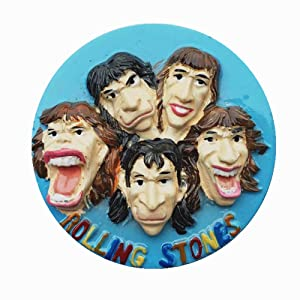 Famous Band The Rolling Stones United Kingdom Fridge Magnet Travel Souvenir Gift Home Kitchen Decoration Magnetic Sticker Refrigerator Magnet Collection