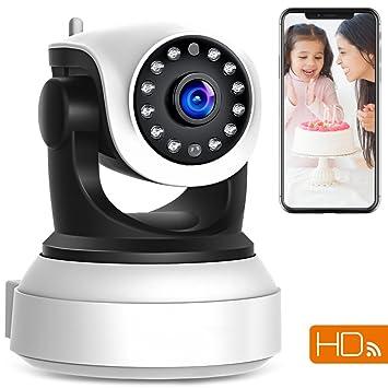 Nanle Cámara IP WiFi 720P Vigilancia de seguridad en el hogar inalámbrico CCTV Cámara interior con