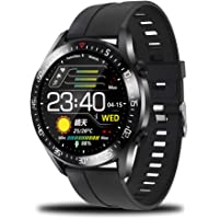 Smart Watch,Full Touch Screen Bluetooth Smart Wrist Watch Phone Fitness Tracker with IP68 Waterproof Health Monitor…