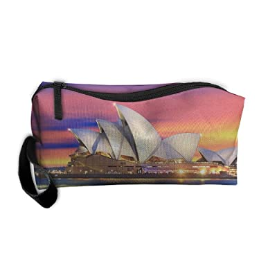 Lights Sydney Theatre Cosmetic Bags Brush Pouch Makeup Bag Zipper Wallet Hangbag Pen Organizer Carry Case Wristlet Holder