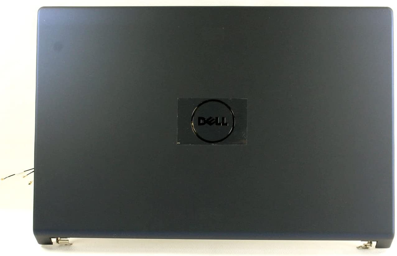 "Dell Studio 1555 1557 1558 15.6"" Blue LCD Back Cover with Hinges - 7DCV3 Grade B"