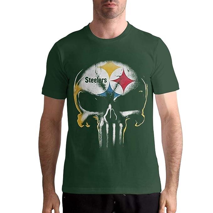 info for 021f6 d688c Herbert?W?Burns Skull Pittsburgh Steelers Shirt Men