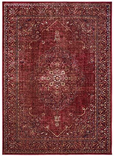 (United Weavers of America 853 10230 1014 Royalton Stirling Red Oversize Rug, )