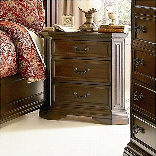 Nightstand in Deep Brown Finish 30