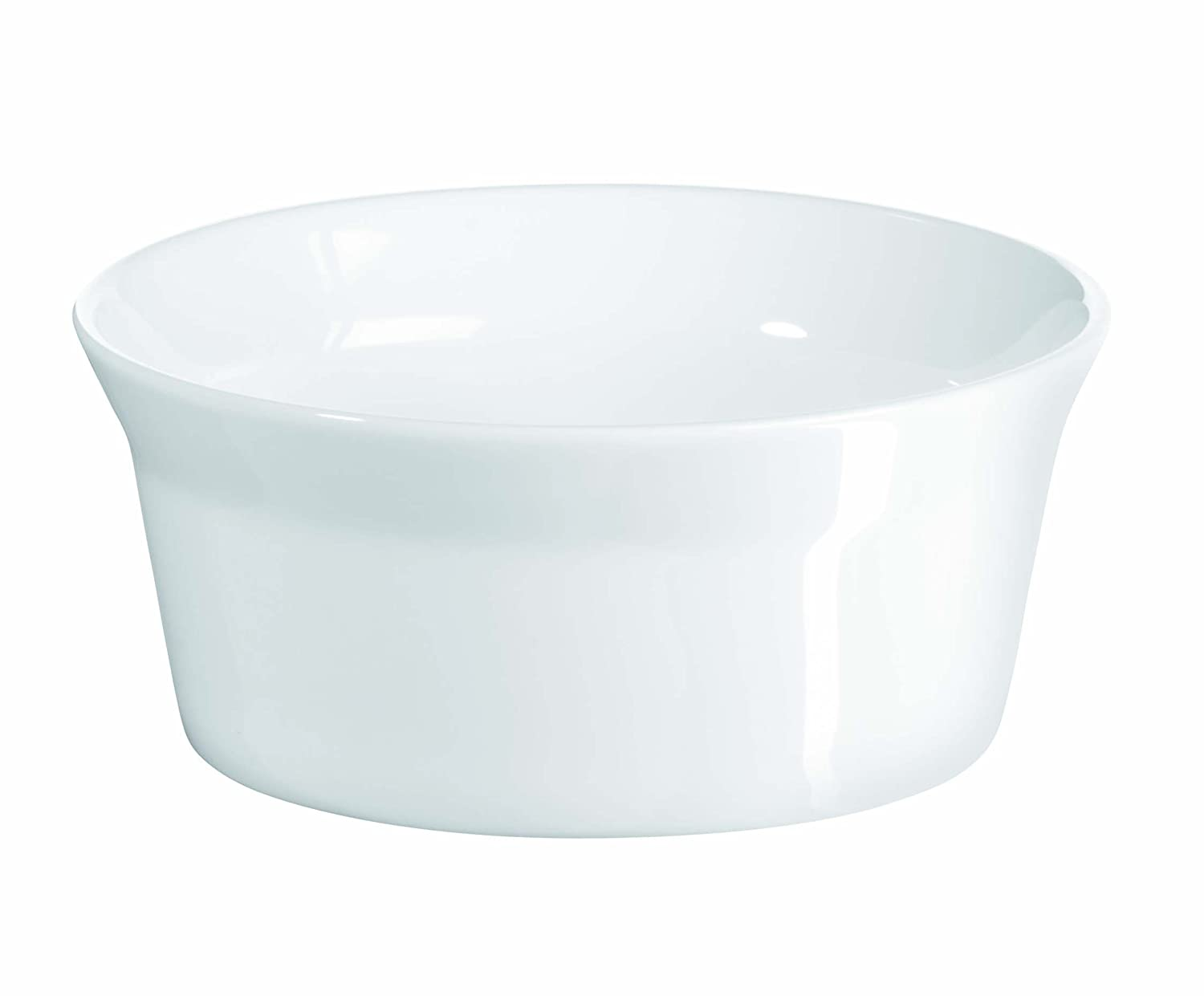 ASA Edition 250 Plus Porcelain Souffle Dish Round, 12cm dia, 5cm high ASA Selection 52010017