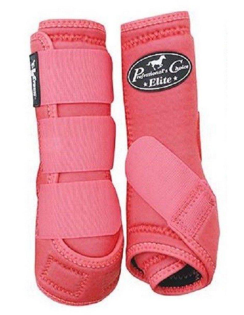 Professional's Choice Equine Sports Medicine Ventech Elite Leg Boot Value Pack, Set of 4 B079HZQFZ3 Large|Melon