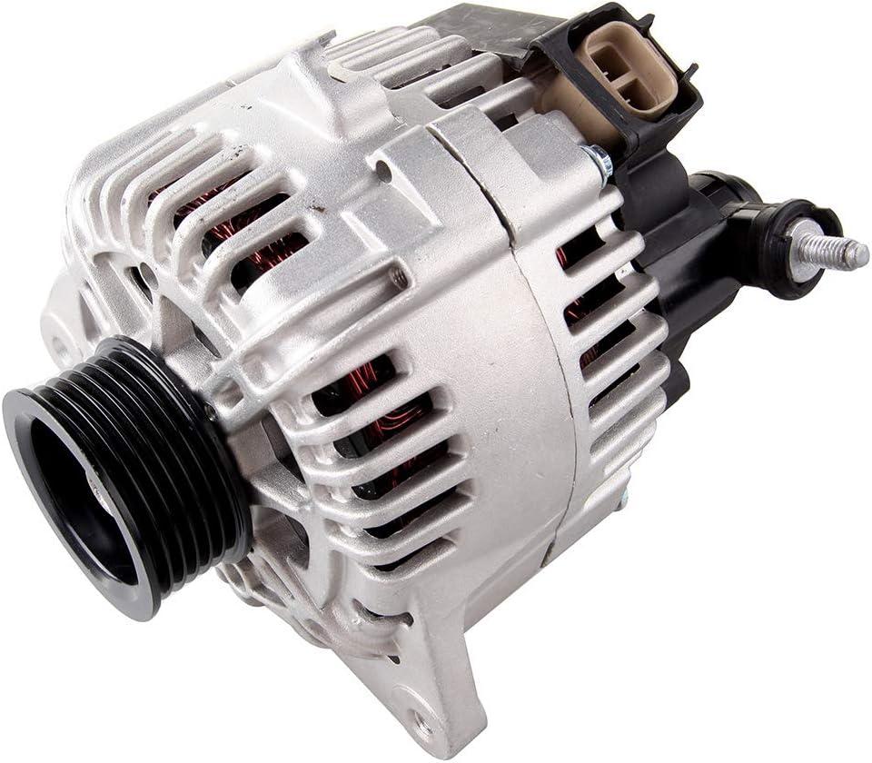 SCITOO Alternators AVA0066 37300-37800 Fit for Hyundai Santa FE 2005-2006 Sonata 2005 Tiburon 2005-2008 Tucson 2005-2009 2.7L KIA Magentis 2005-2006 Optima 2005-2006 Sportage 2005-2010 2.7L