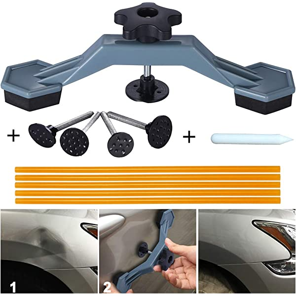 Car Body Paintless Dent Repair Tool Puller Hail Removal Device Glue Pulling Tabs