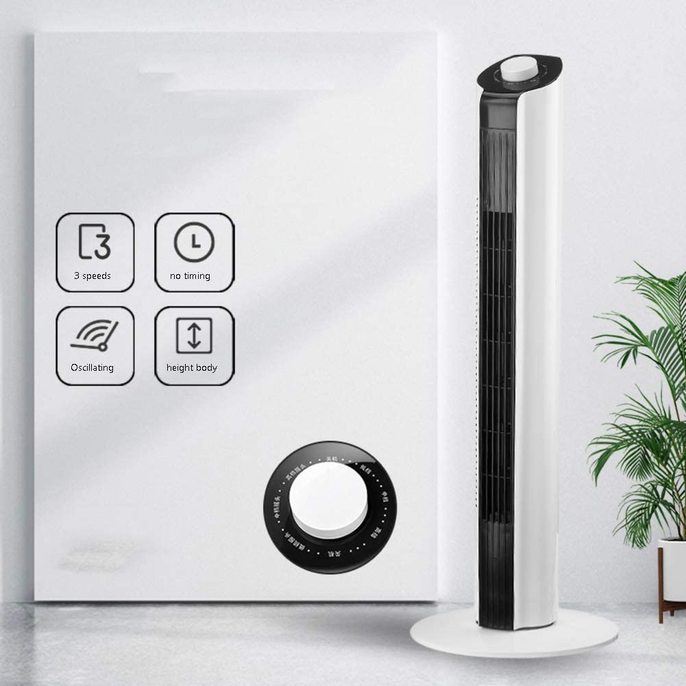 DBWIN Mini airconditioner ventilator met aanraakscherm, draagbare USB persoonlijke koeler met 3 windsnelheden, witte home dorm tafel koelventilator Machines VKyLEpRp